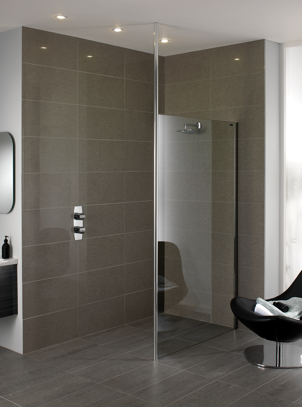Urban Chic Wetroom Screen with Ceiling Support & Don\u0027t Buy Showerlux Shower Doors...Until You\u0027ve Read This Guide