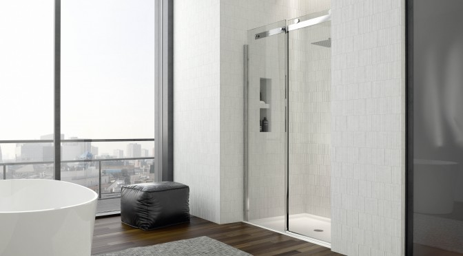 New Enclosure Brand .dilusso Showering Has Luxury Appeal