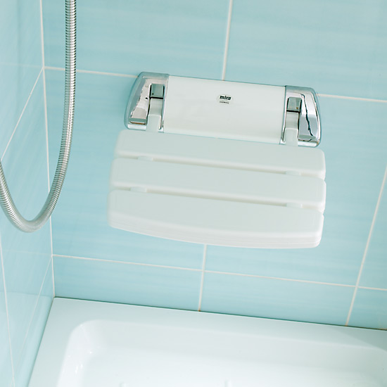 Mira Premium Folding Shower Seat