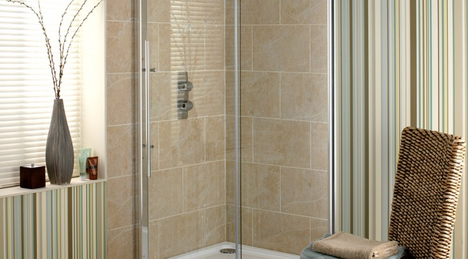 Showerlux Linea Touch In A Recess
