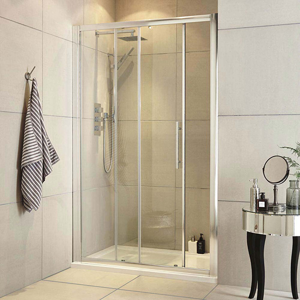 The space saving Ultra Apex sliding shower door