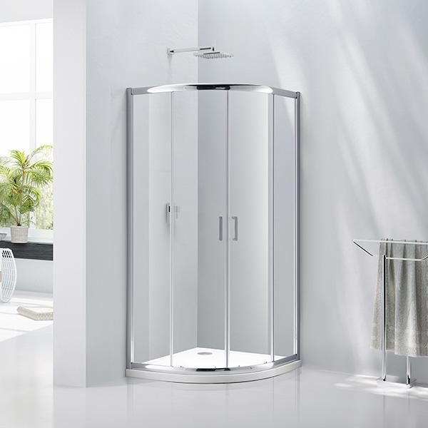Aquaglass 6mm 2 Door Quadrant Shower Enclosure