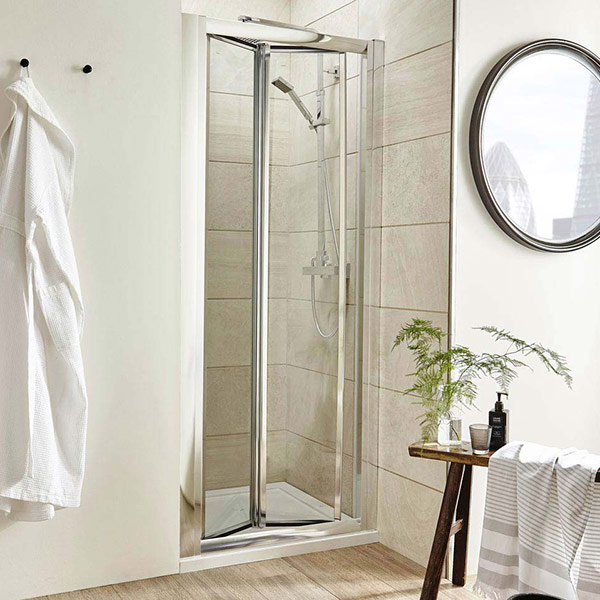 Pacific Bifold Shower Door 700 760 800 900 1000 1100mm