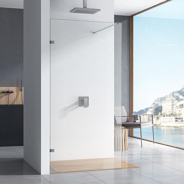 Shield X 10mm Frameless Wetroom Panels