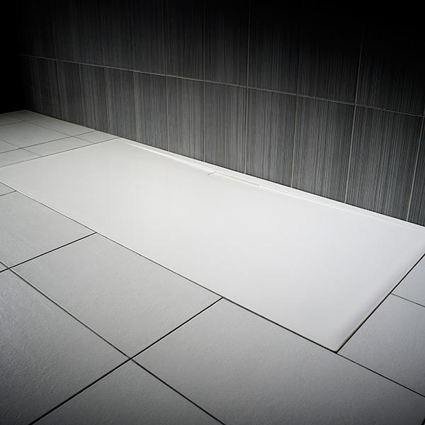 Jt Evolved Rectangular Coloured Shower Trays