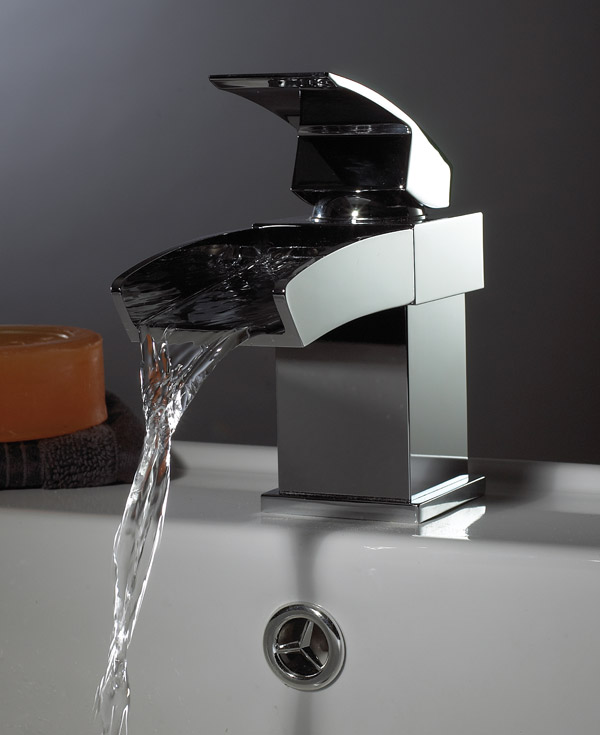 Waterfall Taps Single Lever Mono Basin From Phoenix Ac009