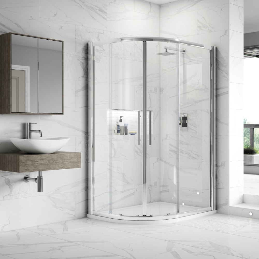Hudson Reed Apex EasyFit Offset Quadrant Shower Enclosures