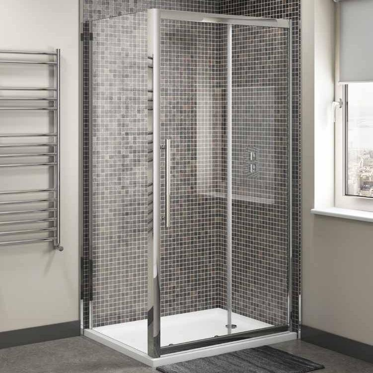 Cassellie Cass Eight 8mm Sliding Glass Shower Doors