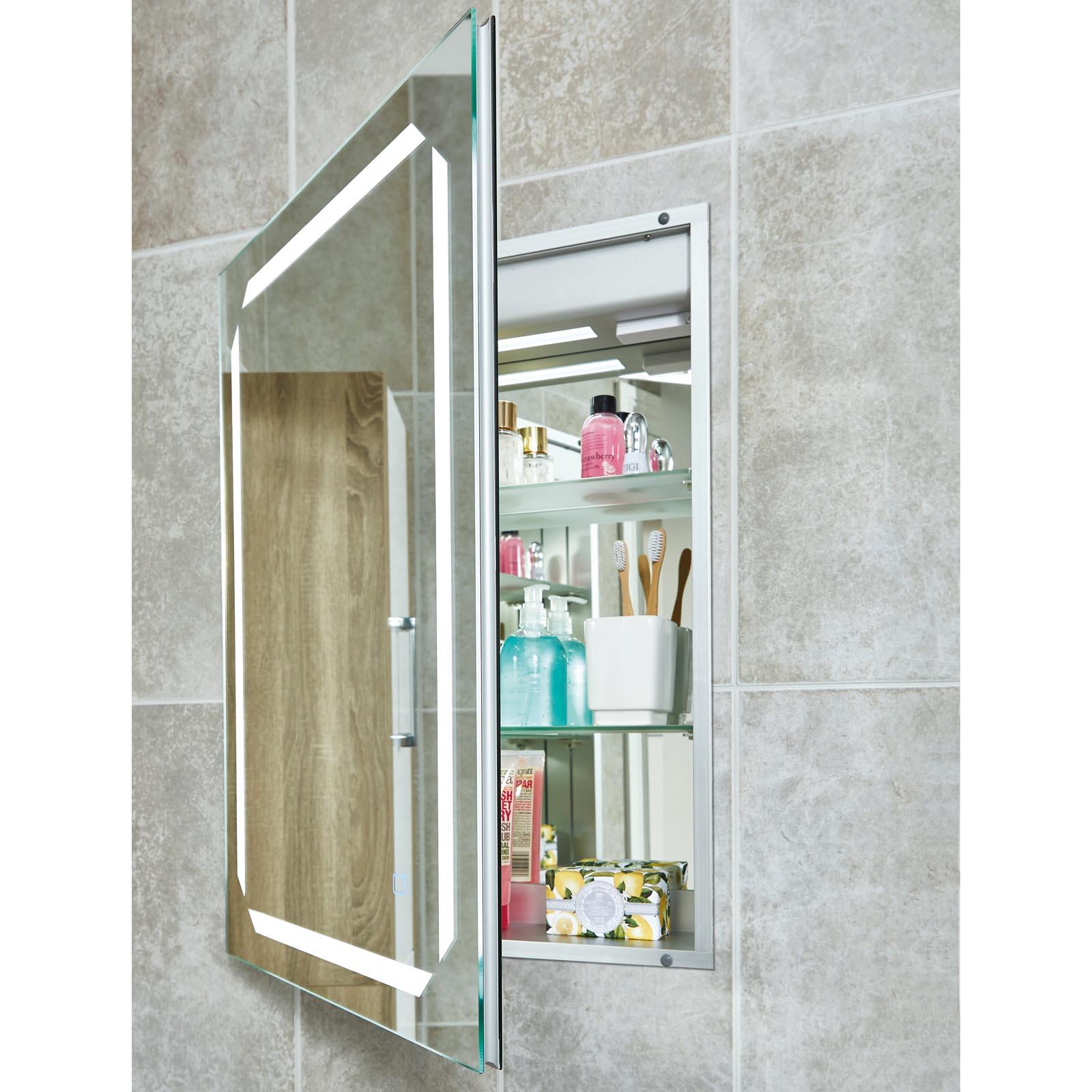 Phoenix Solarium Recessed Bathroom Cabinet With Lighting