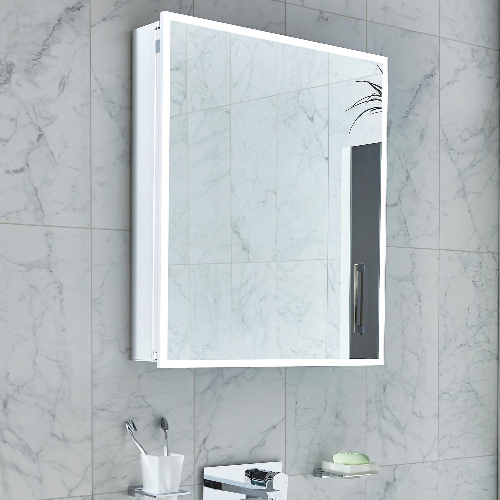 Phoenix Pandora Bluetooth Led Bathroom Mirror Cabinet
