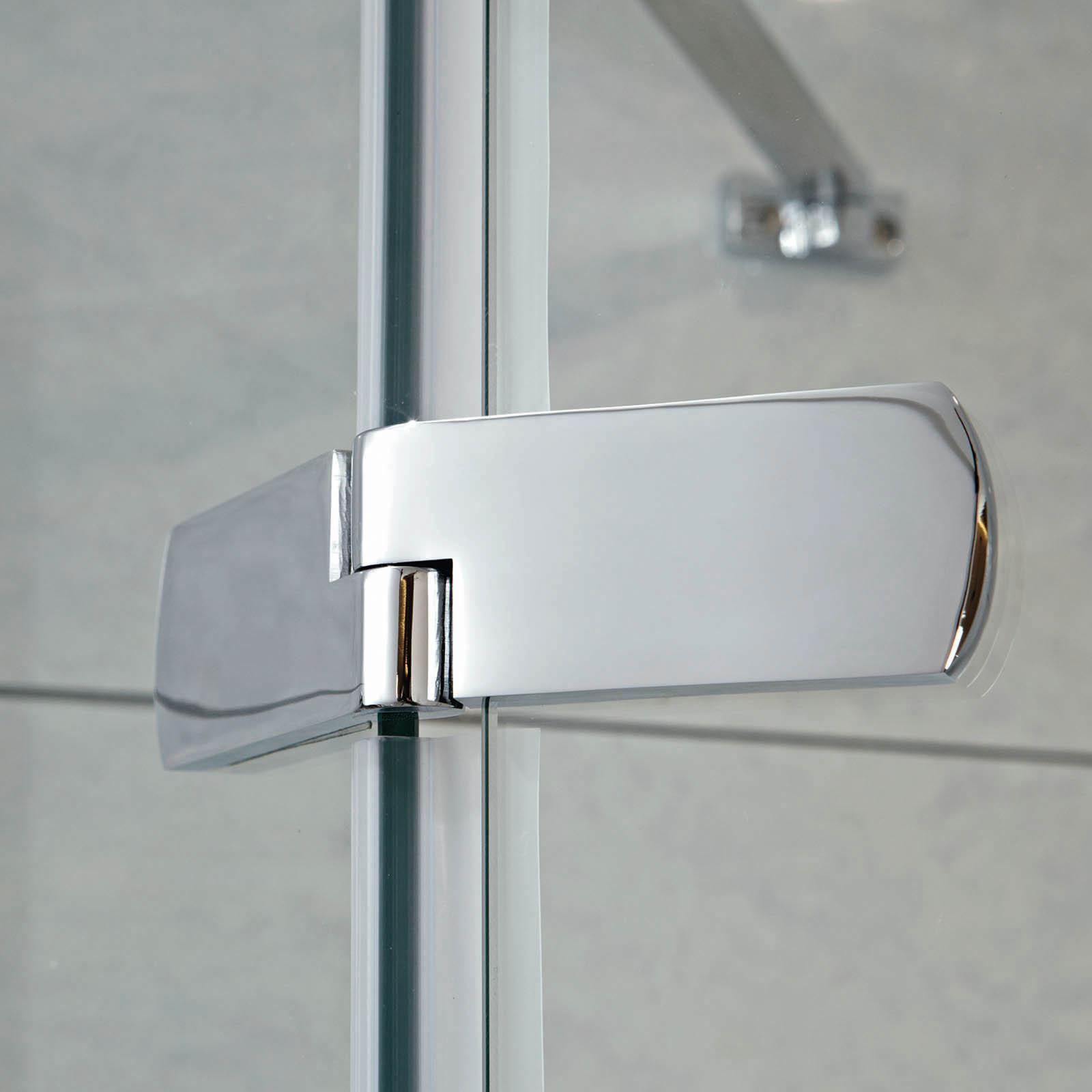 Phoenix Idyllic 8mm Neo Hinged Door Pentangle Shower