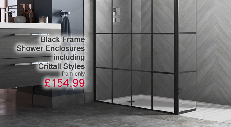 Black Frame Shower Enclosures
