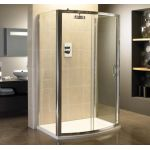 Identiti2 6mm Bow Single Sliding Shower Door 1200mm