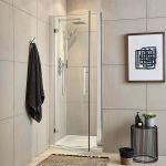 Apex EasyFit Hinged Shower Door