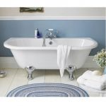 Ultra Finishing Premier Back To Wall Freestanding Bath