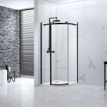 Aquaglass Sphere Industrial Design 1 Door Quadrant Shower Enclosure