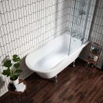 Holborn Islington Freestanding Single Ended Roll Top Bath
