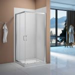 Merlyn Vivid Boost Corner Entry Shower Enclosure Easy Clean Glass