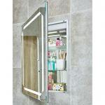 Phoenix Solarium MI056 recessed bathroom cabinet