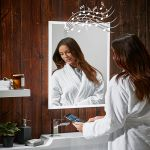 Mosca Bluetooth Speaker Heated Bathroom Mirror