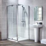 Aquaglass Essential 4mm Bifold Shower Door