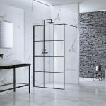 Aquaglass Velar+ Crittall Walk In Shower