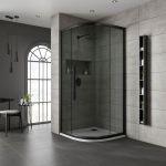 Jaquar Black One Door Quadrant Shower Enclosure