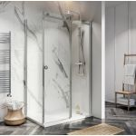 Scudo S8 frameless sliding shower door