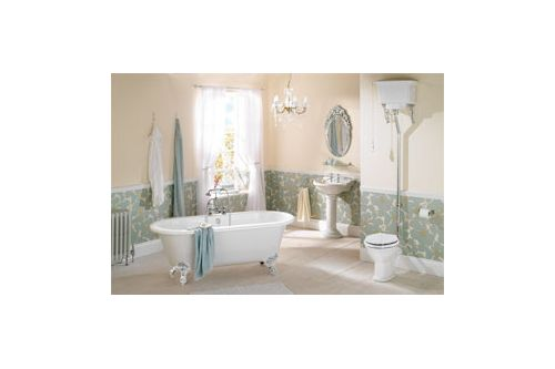 Full Balmoral Bathroom Suite Showing The Balmoral Arched Mirror