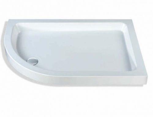 MX Classic Offset Quadrant Shower Tray