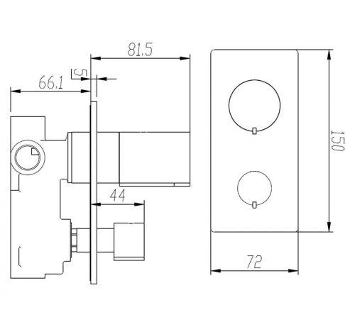BIQ230148GBFG Technical Drawing