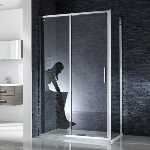 Aquaglass 8mm Sleek Sliding Shower Doors
