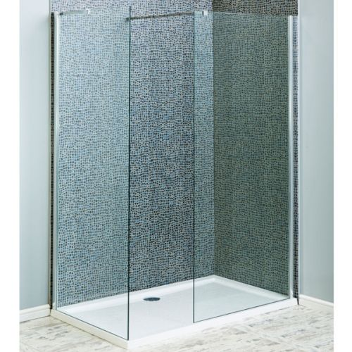 Aquatech 8mm Wet Room Screen with Side Panel