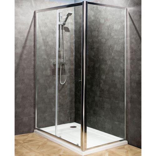 Aquatech 6mm Sliding Shower Door