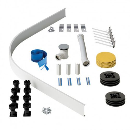Easy Plumb Kit For Deep Quadrant Shower Tray