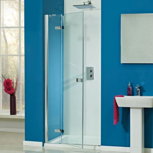 Phoenix Idyllic 8mm Hinged Shower Door With Fixed Panel LH