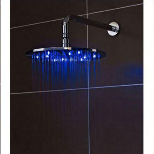 Illumination shower head blue light