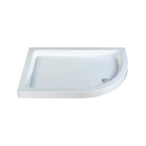 80mm Deep Offset Quadrant Shower Tray