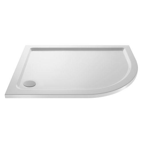 Offset Quadrant Stone Resin 40mm Shower Tray