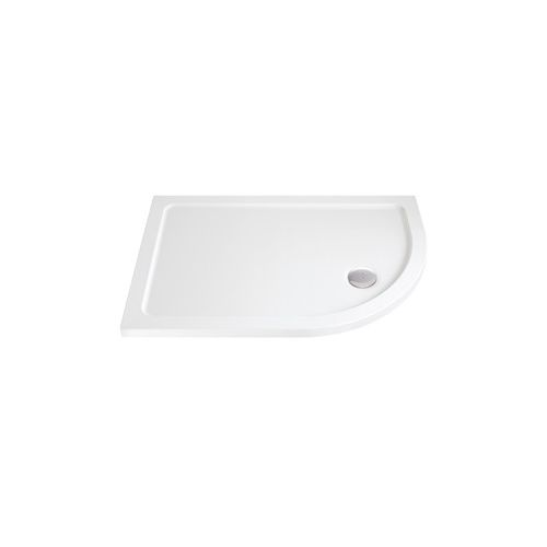 Phoenix Low Profile Offset Quadrant Shower Tray with Waste