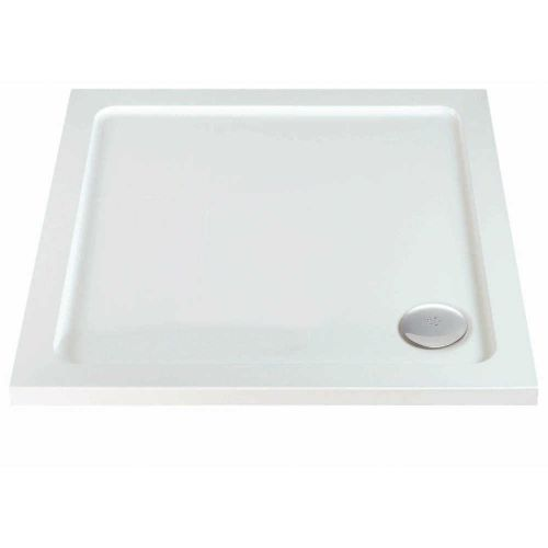 Phoenix Square Shower Tray with Waste