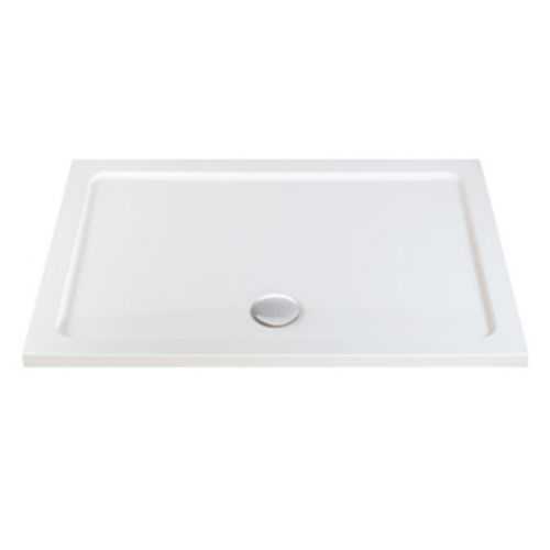 Phoenix Rectangular Shower Tray with Waste
