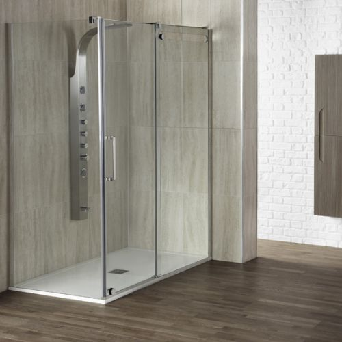 Aquaglass+ 8mm Sliding Shower Door