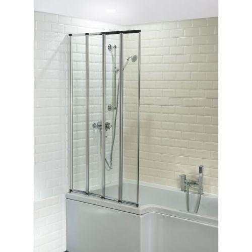 Aquatech Four Folding Bath Shower Screen