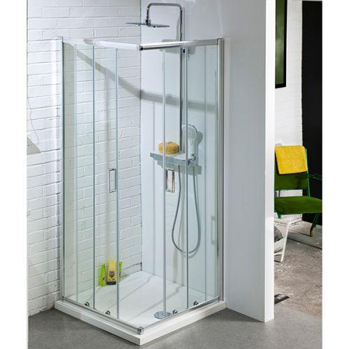 Aquatech corner entry shower enclosure