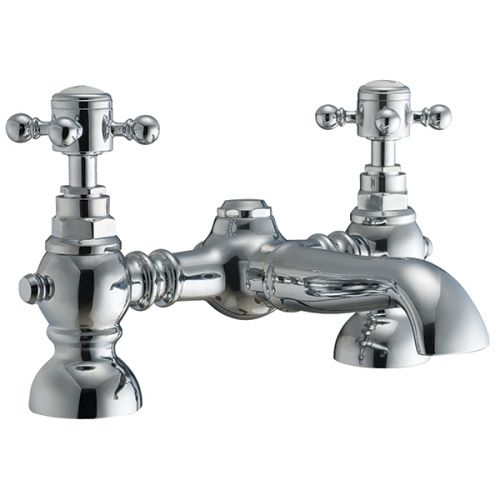 Harrogate Traditional 2 Pillar Bath Filler Taps