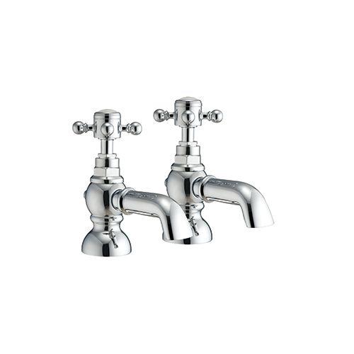 Harrogate Traditional 2 Pillar Bath Filler Taps