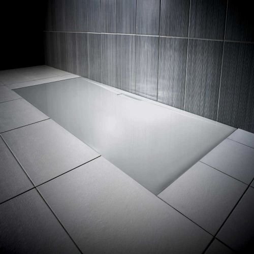 Mistral Grey Jt Evolved shower tray