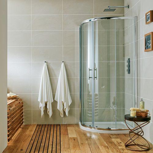 Scudo i6 6mm 2 Door Quadrant Shower Enclosure
