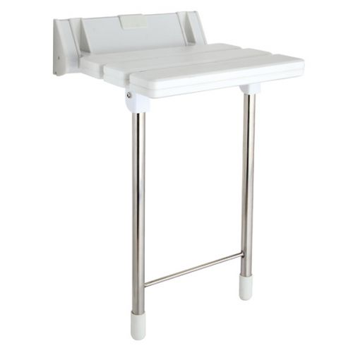 Luxury Fold Up Shower Seat With Support Legs